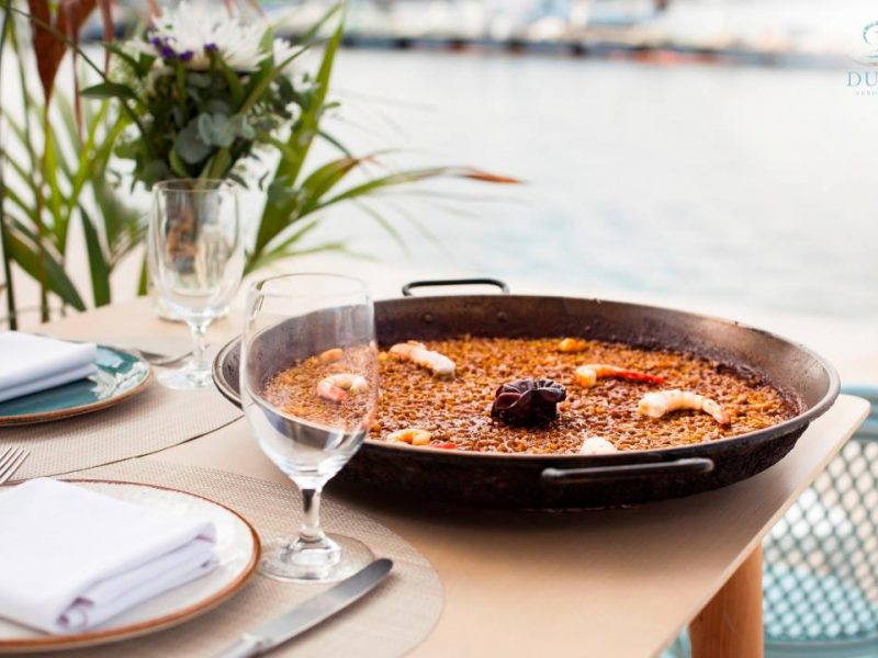 restaurante duna puerto valencia